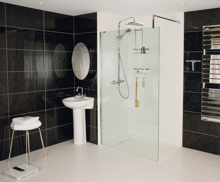 shower baths or wetroom how do you wash roman. Black Bedroom Furniture Sets. Home Design Ideas