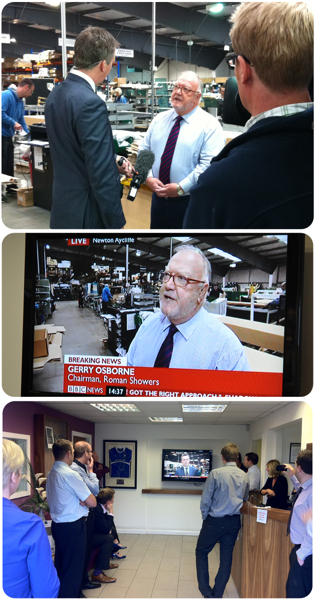 Behind the Scenes of a BBC News Interview