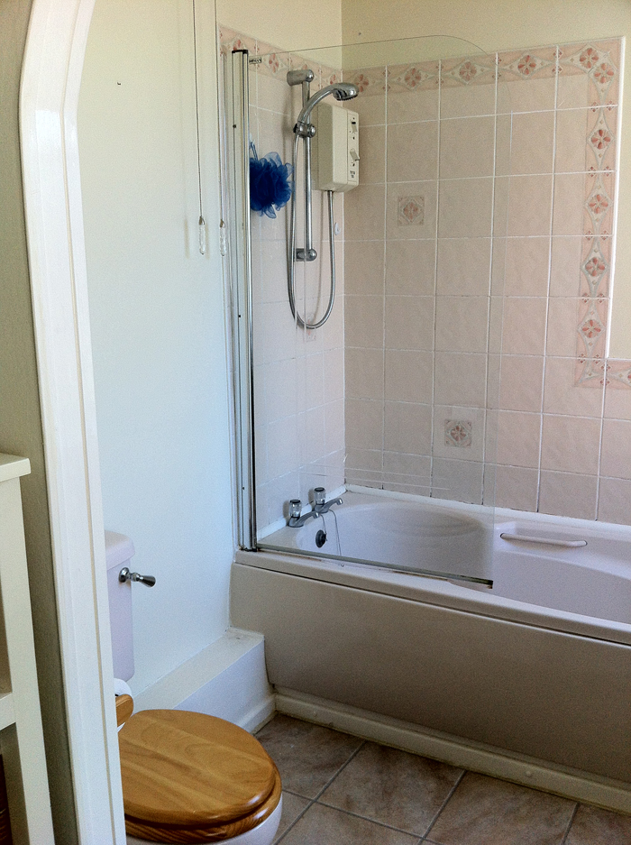 Bathroom Before Decoration & Refurbishment