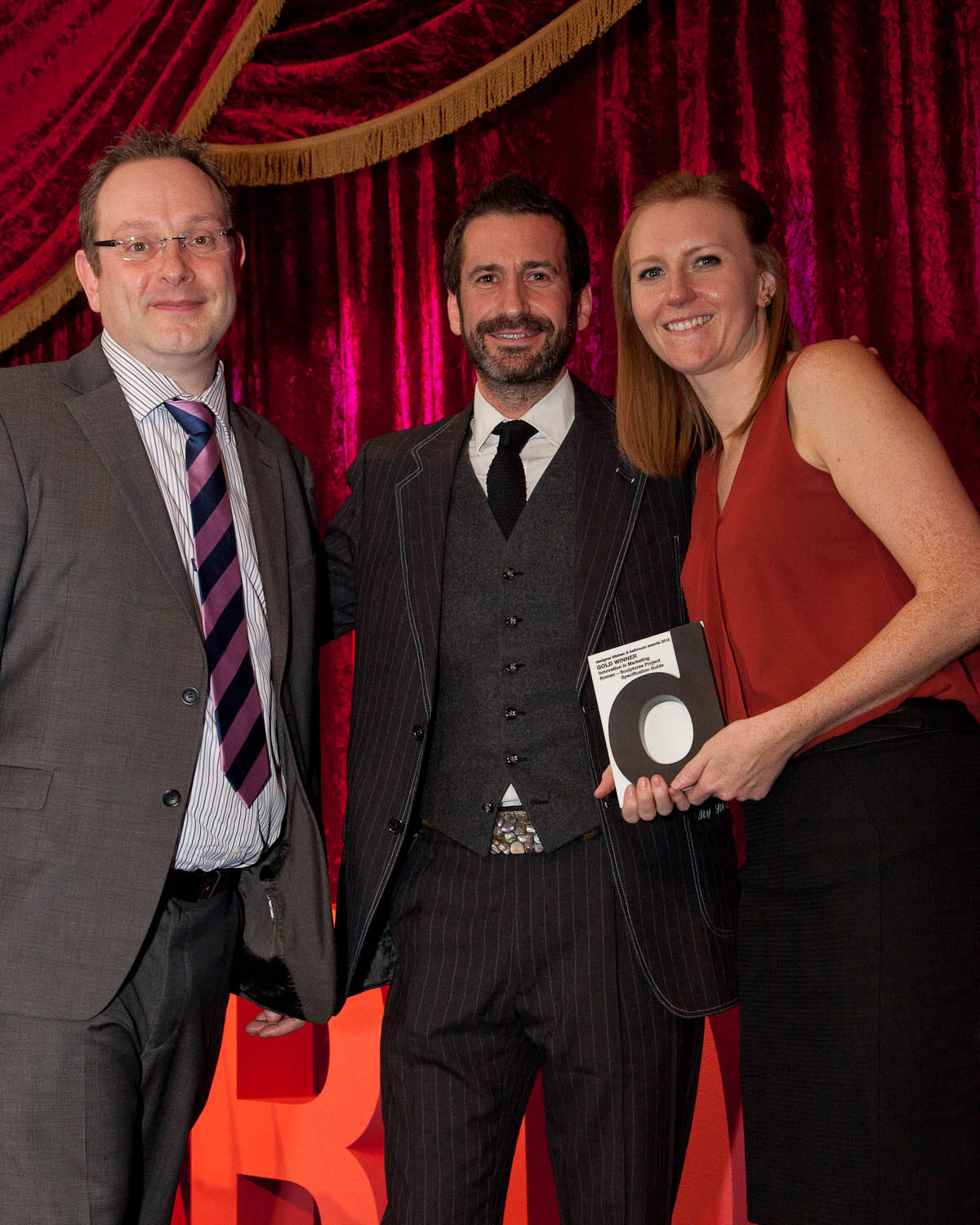 Roman Wins Gold Award at the Designer K&B Awards