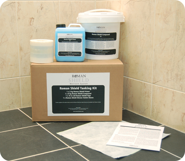 Roman Product Focus: Roman Shield Complete Wetroom Kits