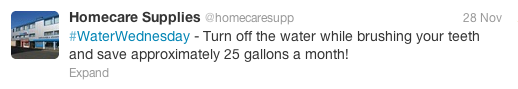 Water Wednesday Home Care 5