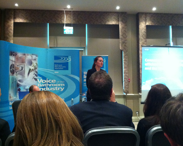 Presentation from WRAP about consumer research about attitudes to water using products