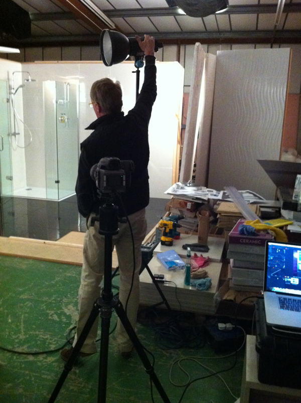 Lighting the Set