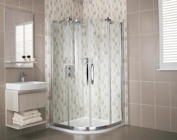 Desire Frameless One Quadrant Shower Enclosure