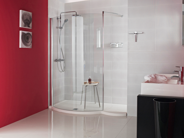 Orbital 1700mm Colossus Walk-in Shower Enclosure