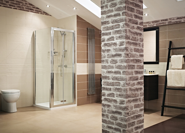 Lumin8 Bi-Fold Shower Enclosure