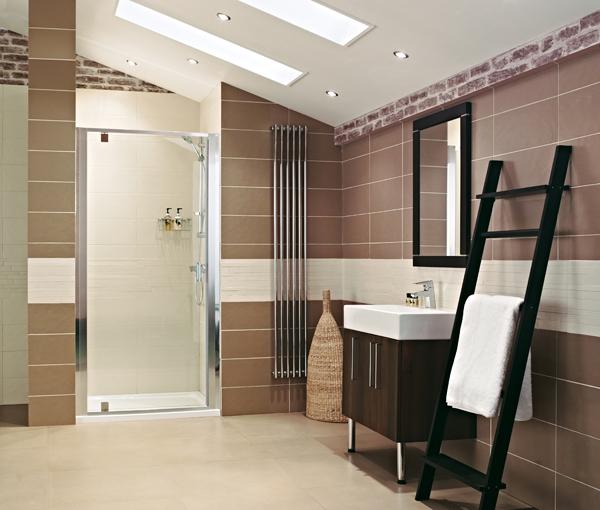 Lumin8 Pivot Door Shower Enclosure