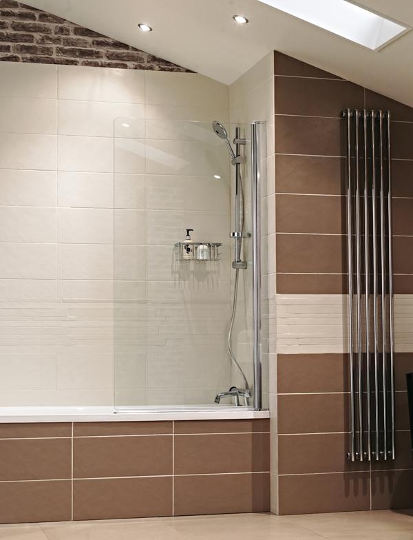 Lumin8 Frameless Bath Screen