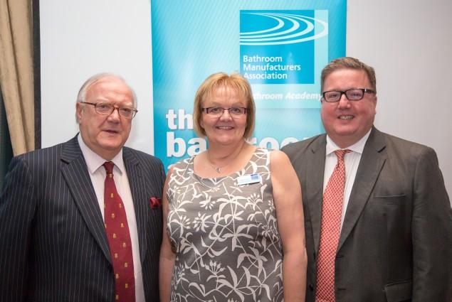 Gerry Osborne, Yvonne Orgill and David Osborne