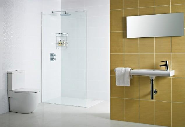 Decem Concealed Fix Wetroom Panel
