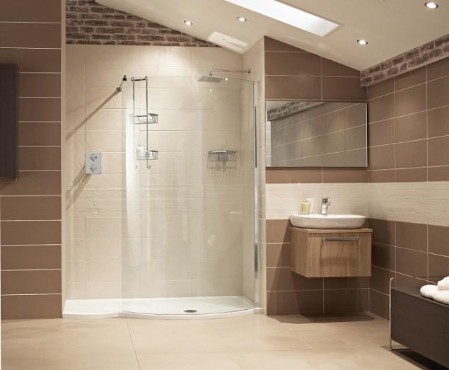 Lumin8 1700mm Colossus Walk-In Shower Enclosure