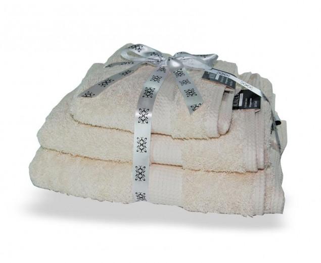 Cream Egyptian Cotton Towel Bale