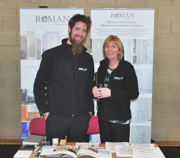 Roman at the 'Finding Your Future' Event