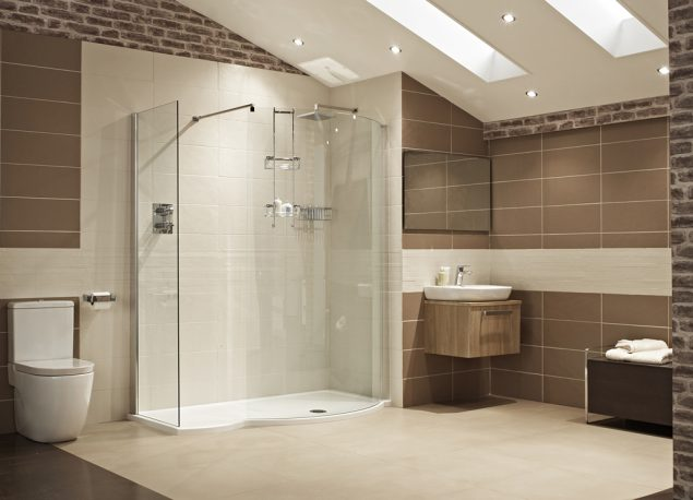 Lumin8 1700mm Colossus Walk-In Shower Enclosure