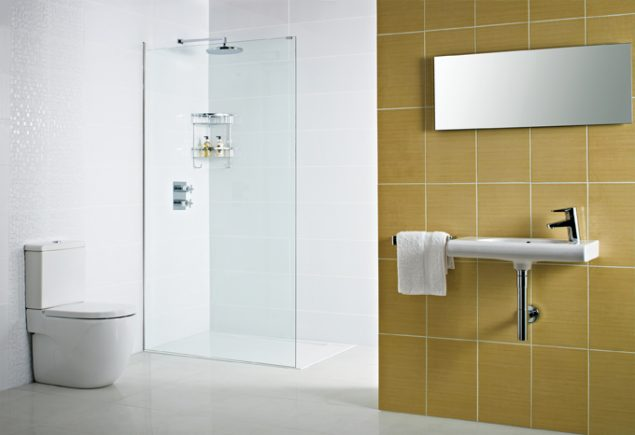 Decem Concealed Fix Wetroom Panel