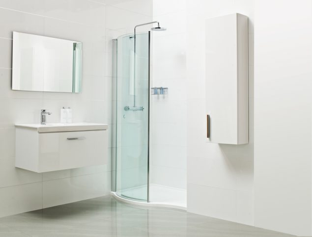Lumin8 Wave Walk-In Shower Enclosure