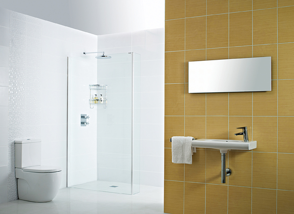 Decem Wetroom Panel Concealed Fix