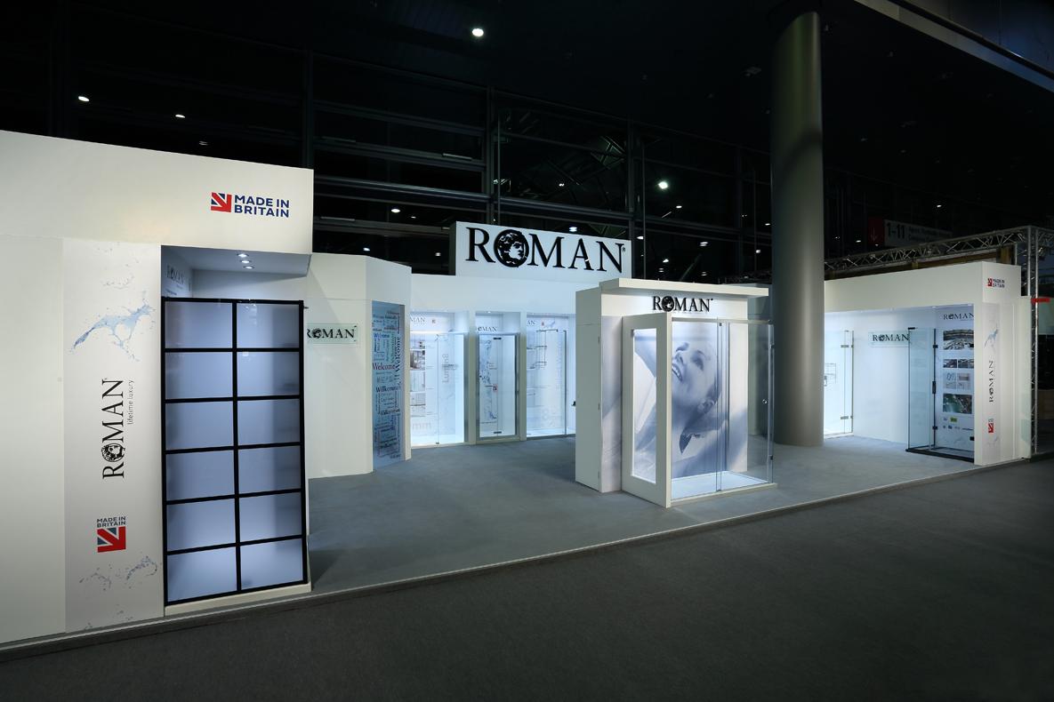 Roman at ISH Frankfurt 2017
