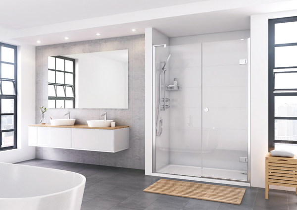 Decem Inward Opening Door Shower Enclosure