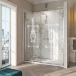Victoriana Hinged Door Shower Enclosure