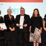Yvonne Orgill (CEO, BMA), The Lady Baroness Maddock, David Osborne (Managing Director at Roman), Laura Knox (Marketing Communications Manager at Roman) and Anna Scothern (Executive Director, NHIC)