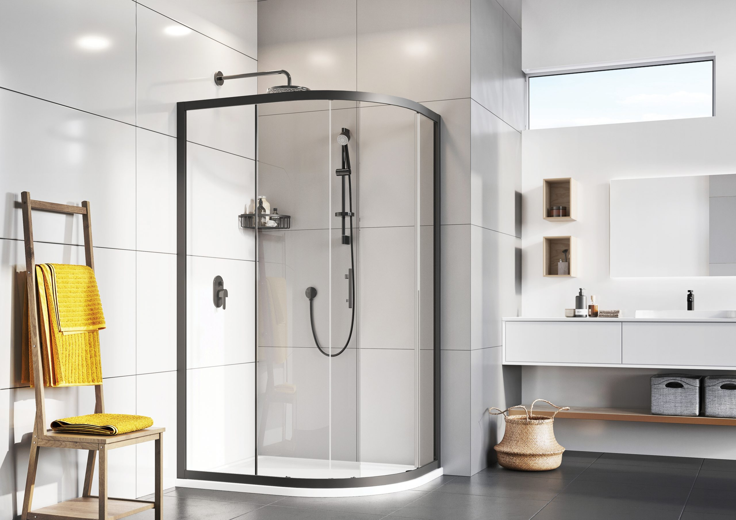 What is the Best Shower Enclosure to Save Space in the Bathroom?