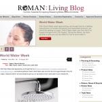 Roman Blog Homepage