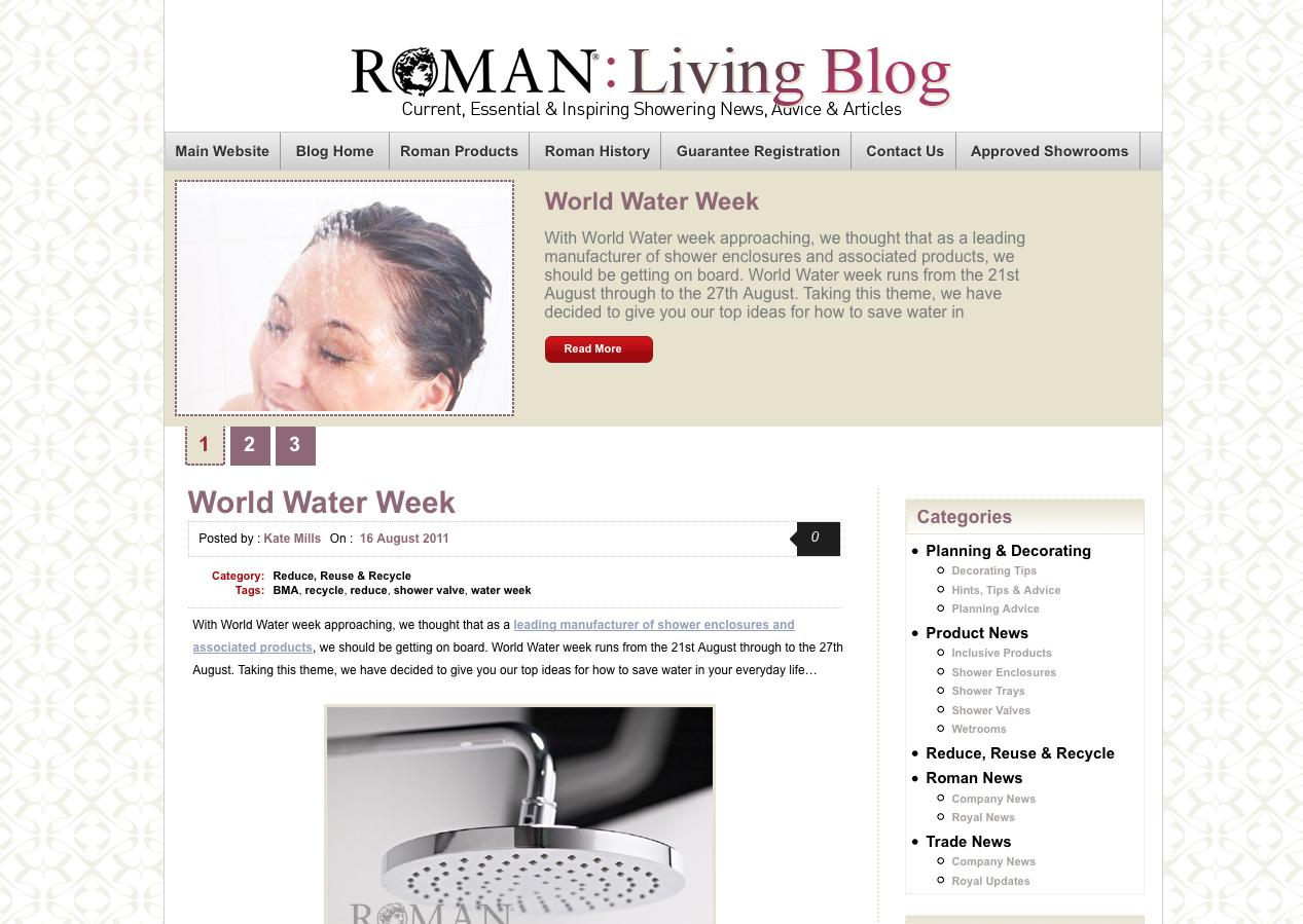 Roman's New Look Blog
