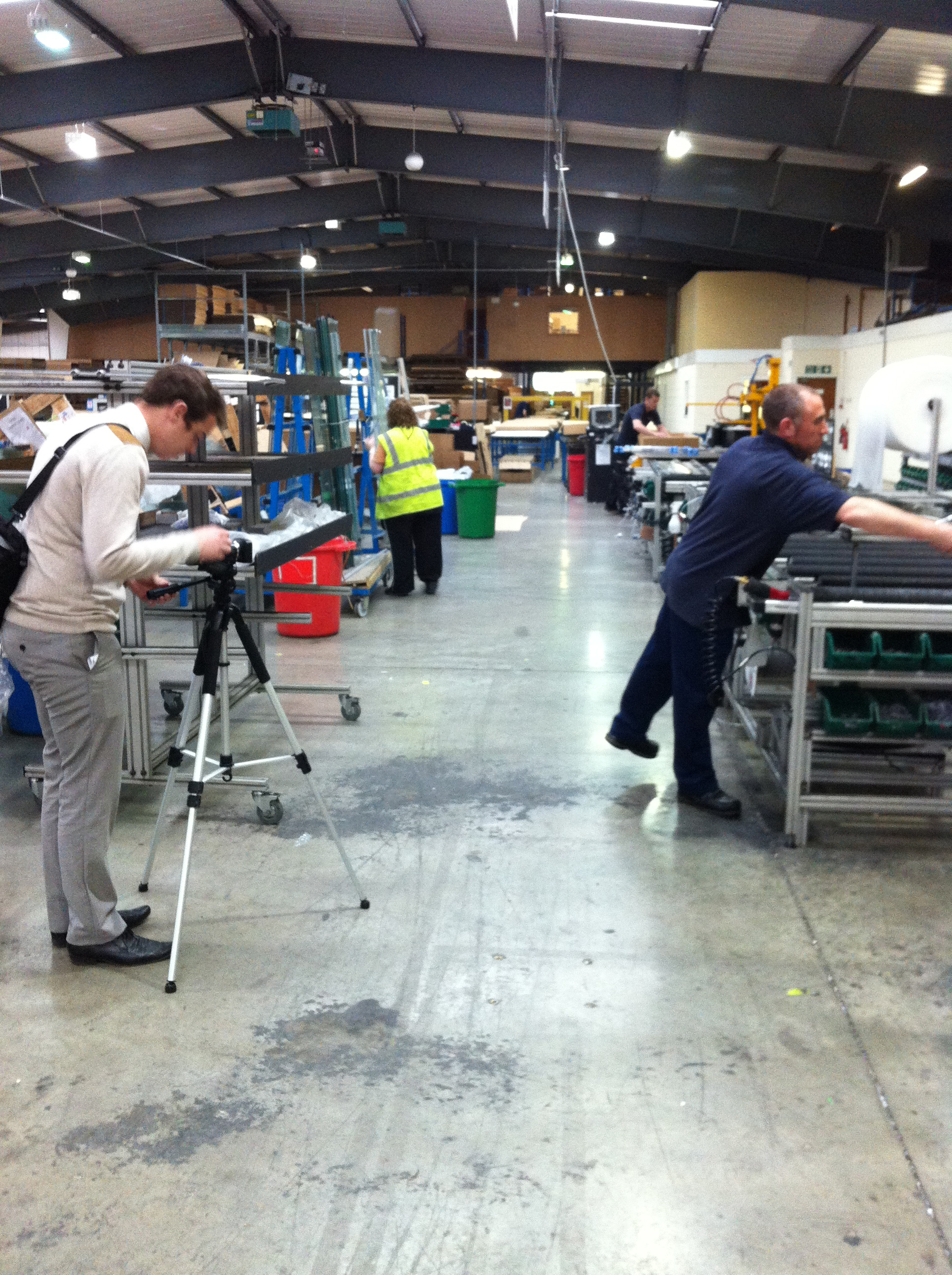 Behind the Scenes: Creating our Corporate Video