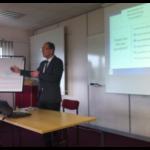 John Concluding the Presentation