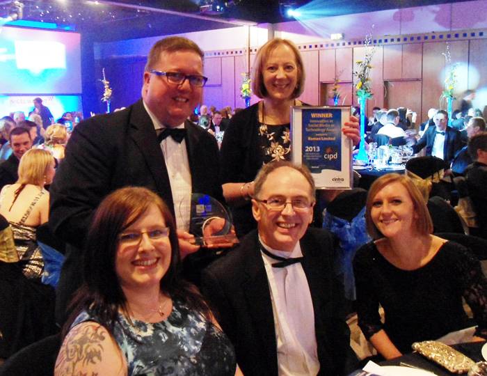 Roman Win Award for Project 252