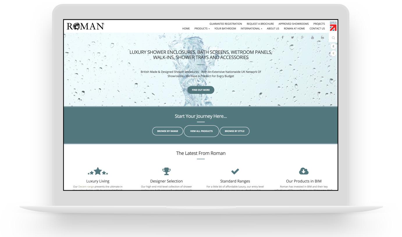 Roman's Brand New Website
