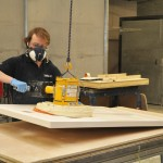 Magnetic Boom in Roman's Solid Surface Fabrication Plant
