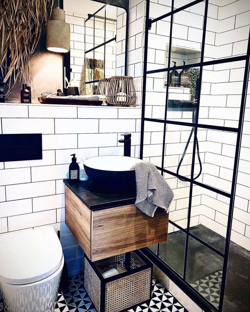 Four of the Greatest Gridded Bathroom Designs of 2020